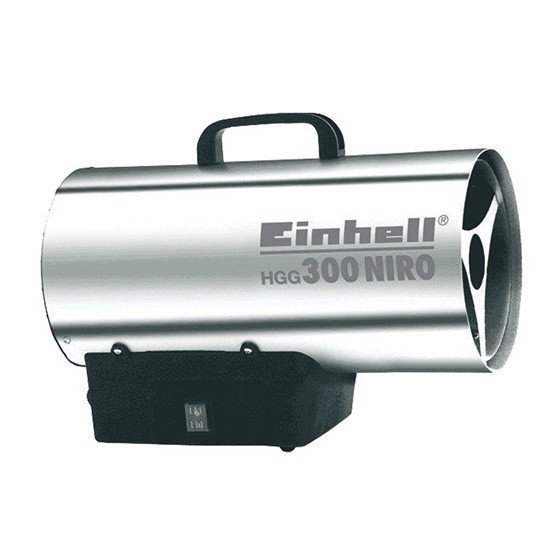 EINHELL HGG 300 NIRO EX PLINSKI GRIJAČ